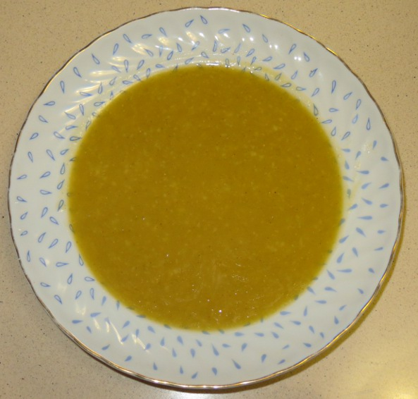 Kamut and Pumpkin Soup